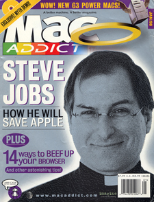 MacAddict 1997 cover