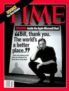 Time magazine 1997 cover