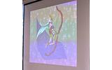 優秀賞受賞の「セキュリティナイト」に登場する標的型攻撃を擬人化したボスキャラは弓矢を携える女性として描かれているの画像