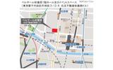 会場周辺地図の画像