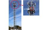 「津波監視システム」は全国16か所の基地局にカメラを設置。遠隔でカメラを操作し、沖合10kmの海面の監視と基地局の通信設備の被災状況を確認することができる(画像はプレスリリースより)の画像