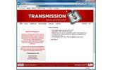 ソフトウェアへのランサムウェア混入を警告する「Transmissionbt.com」の画像