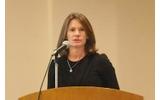 米Vormetric社のマーケティング担当副社長であるティナ・スチュワート氏の画像