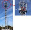 基地局に設置した監視カメラから津波の被災状況を監視(NTTドコモ)