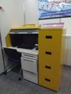 マイナンバー関連のPCや書類を安全に保管する指紋認証搭載のPC収納ボックス(日本フォームサービス)