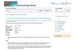 BIND 9.10.xにDNSサービス停止の脆弱性(JPRS) 画像