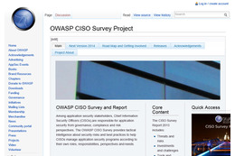 OWASP CISO Survey Project