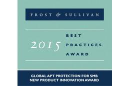 「APT Blocker」がFrost & Sullivanの新製品イノベーションアワードを受賞(ウォッチガード) 画像