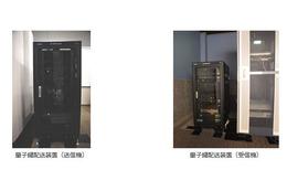 理論上盗聴できない「量子鍵配送」の評価手法確立の推進(NEC) 画像