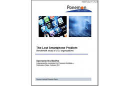 「The Lost Smartphone Problem」表紙