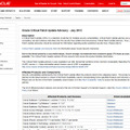 Oracleによる定例パッチ「Oracle Critical Patch Update Advisory - July 2013」