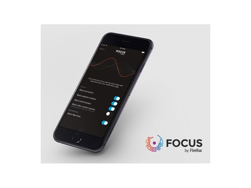 「Focus by Firefox」利用イメージ