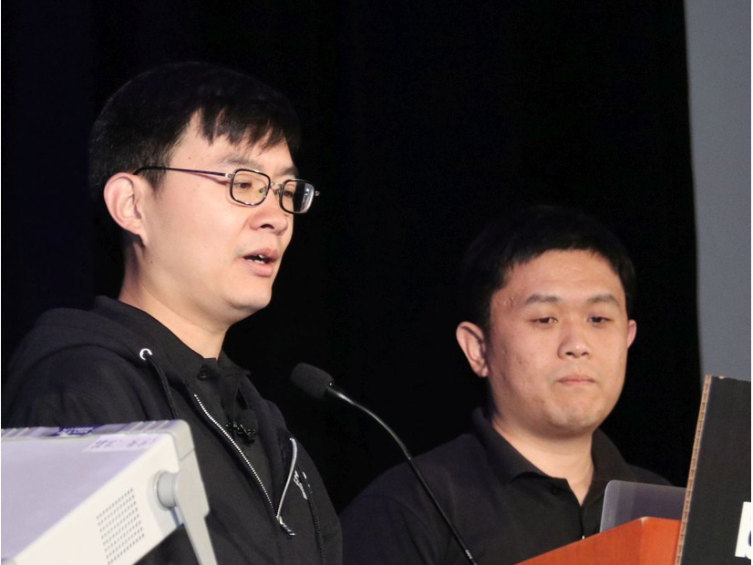 Alibaba Security Wang氏(左)