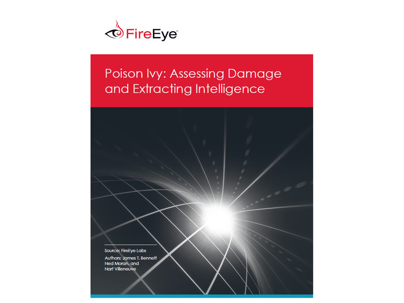 レポート「Poison Ivy: Assessing Damage and Extracting Intelligence」