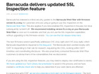 「Barracuda Web Filter」にサーバ証明書を適切に検証しない脆弱性(JVN)