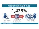 ランサムウェアのROIは1,425%、情報武装のためのマルウェア解析を提供(キヤノンITS)
