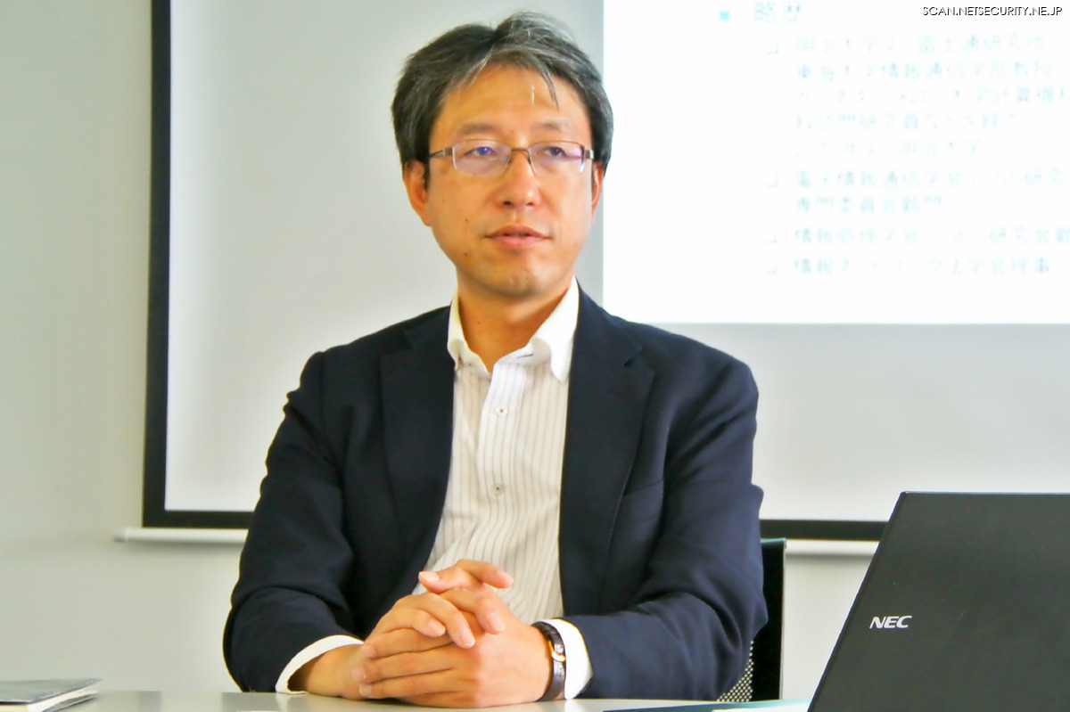「仮説は四つに絞られる」 と不敵に微笑む JPCERT/CC 代表理事 菊池 浩明 氏