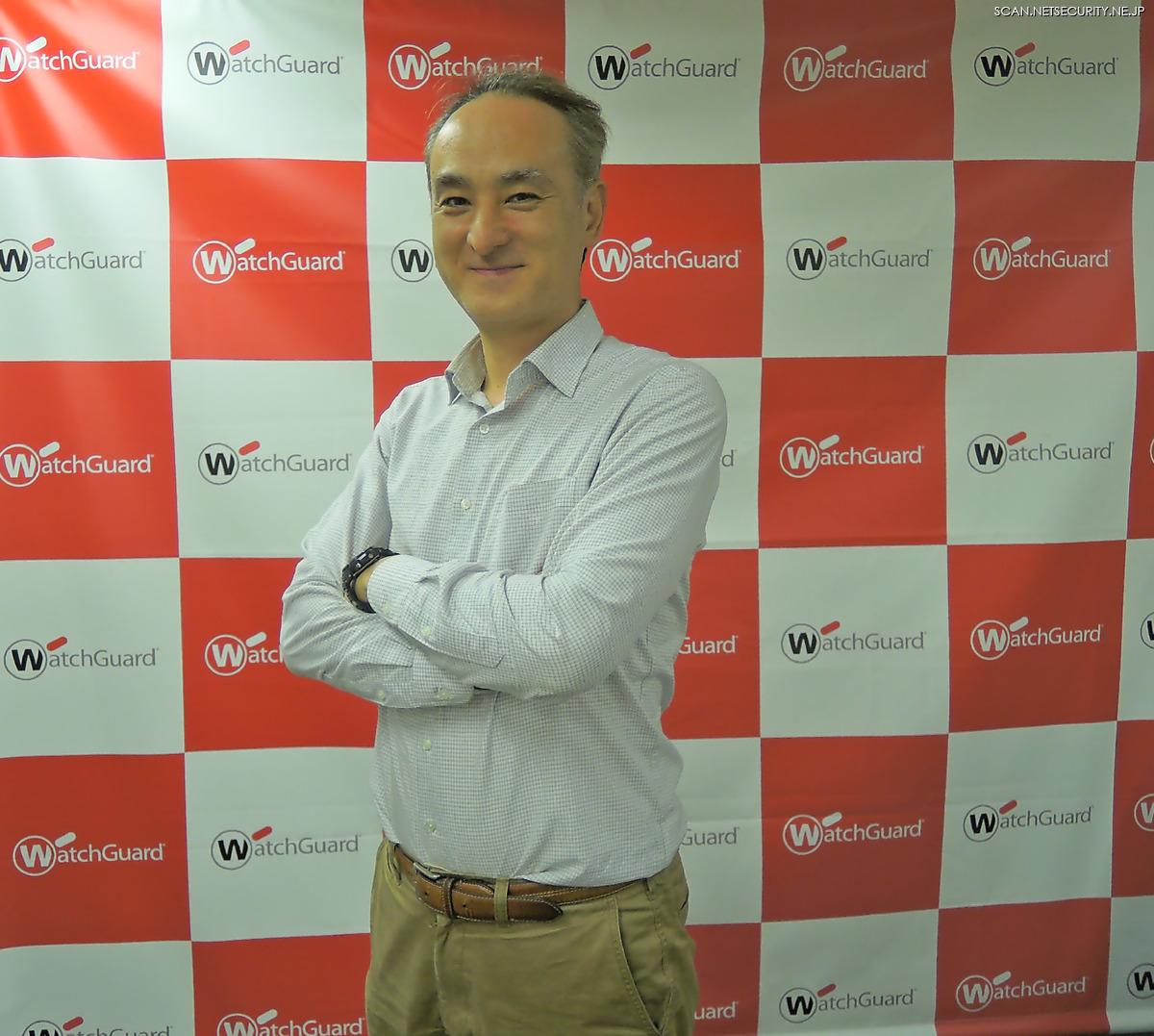 ウォッチガード・テクノロジー・ジャパン株式会社 セールスエンジニア 部長 猪股 修 氏