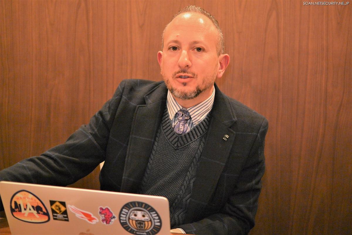 クラウドストライク株式会社 アジア環太平洋地域 脅威インテリジェンス ディレクター Scott Jarkoff 氏