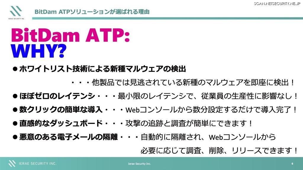 BitDam ATPソリューションが選ばれる理由